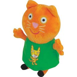 "Фото Мягкая игрушка Свинка Пеппа ""Кенди в футболке с тигром"" 20 см (29622)"