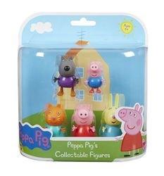 Фото Игровой набор Свинка Пеппа и друзья 5 фигурок (30704)