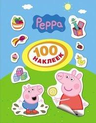 """Фото Книга с наклейками 100 наклеек """"Свинка Пеппа"""" (24099)"""