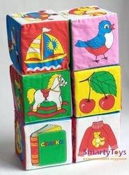 Мягкие кубики Мякиши Предметы фотография 2