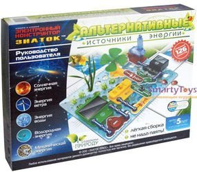 Электронный конструктор Знаток Альтернативные источники энергии 126 схем фотография 2