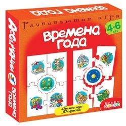 """Фото Настольная развивающая игра Ассоциации """"Времена года"""" (2919/1345)"""