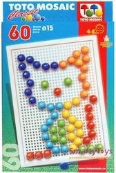 Мозаика 60 элементов, 15 мм (00-111) фотография 1