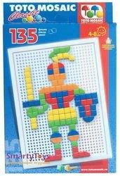Фото Мозаика для детей фигурные фишки, 135 эл. (00-123)
