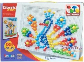 Фото Мозаика 185 элементов, 10мм + 15мм (00-334)