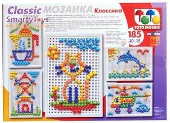 Мозаика 185 элементов, 10мм + 15мм (00-334) фотография 2