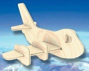Фото Сборная деревянная модель Реактивный самолет (Б 32)