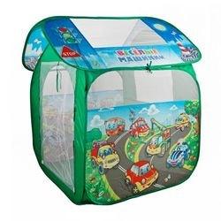 """Фото Детская игровая палатка """"Веселые машинки"""" 83*80*105 см в сумке (GFA-AUTO-R)"""
