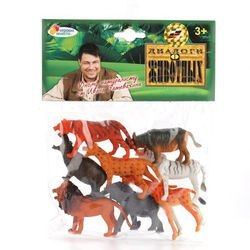 Фото Набор фигурок Дикие животные 8 штук (HB335-8)