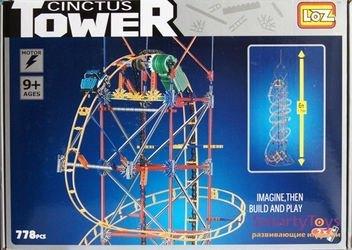 Конструктор Loz Аттракцион Башня (Американские горки) (C0002)) фотография 1