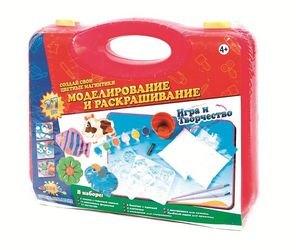 Фото Набор для творчества Создай свои цветные магнитики в чемоданчике (80265)