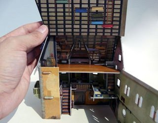 Сборная модель из картона Ратуша фотография 5
