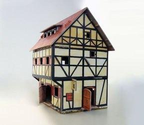 Сборная модель из картона Таверна  фотография 4