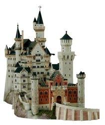 Фото Сборная модель Замок Neuschwanstein