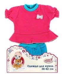 Фото Одежда для куклы 38-42 см Кофточка и шортики в ассортименте (48)