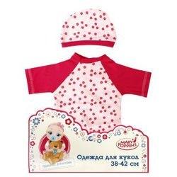 Фото Одежда для куклы 38-42 см Комбинезон с шапочкой (62/452049)