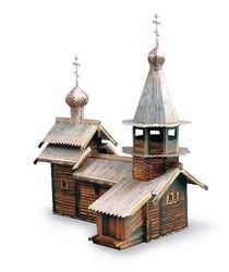 Сборная модель Часовня Архангела Михаила фотография 1