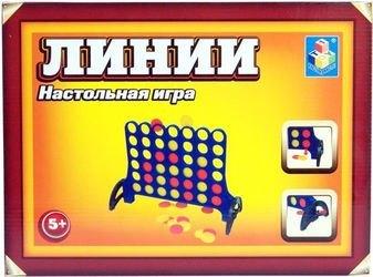 Настольная игра Линии (Собери четыре) фотография 1