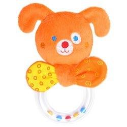 Фото Мягкая игрушка-погремушка ШуМякиши Мистер Гуф с колечком (358)