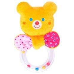 Фото Мягкая игрушка-погремушка ШуМякиши Мистер Тед с колечком (354)