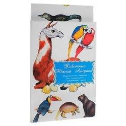 Фото Набор карточек Животные Южной Америки