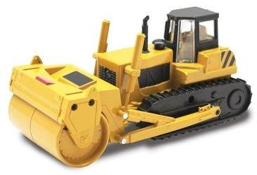 Фото Масштабная модель Трактор с катком гусеничный 1:48 со светом и звуком (870159)