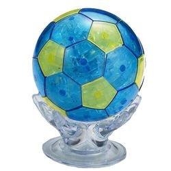 Фото Кристальный пазл 3Д Футбольный мяч 76 дет  (9054А)