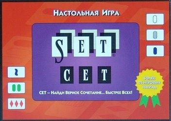 Фото Настольная игра Сет