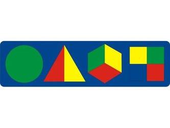 Фото Мягкая мозаика с геометрическими фигурами (45312)