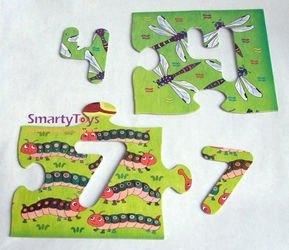 Напольный пазл Арифметика (Мозаика для малышей) фотография 4