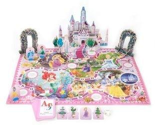 Настольная игра-ходилка 3D Дисней Принцессы фотография 2