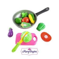 Фото Игровой набор для резки Овощи в сковороде (453045)