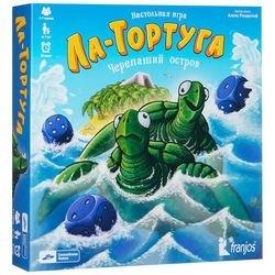 Фото Настольная игра Ла-Тортуга Черепаший остров версия 2:0