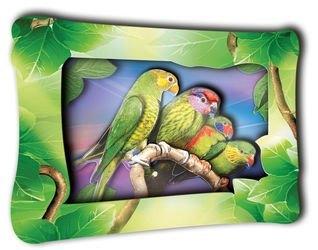 """Фото Набор для творчества Объемная картина """"Амазонские попугаи"""" (К0007)"""
