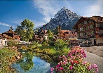 Фото Пазл Альпы летом 2000 элементов (27089)