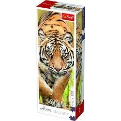 Фото Пазл Домашняя галерея Затаившийся тигр 300 элементов (75002)