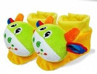 Фото Погремушка носочки-тапочки Минибамбини (7583/00649634)