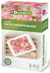 Фото Набор для изготовления мыла Мыло акварельное Домашний Розы (404103)