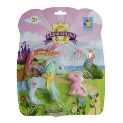 Фото Игровой набор Два пони с украшениями Пониландия (56369)