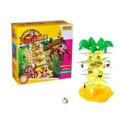 Фото Настольная семейная игра Кувыркающиеся обезьянки (Ф51234)