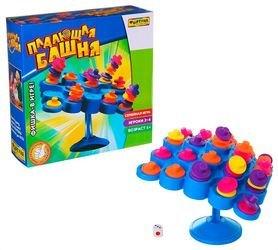 Фото Настольная семейная игра Падающая башня (Ф51235)