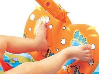 Музыкальный развивающий коврик с игровой подушечкой Зоосад фотография 8