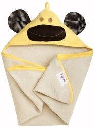 Фото Полотенце с капюшоном для детей Жёлтая обезьянка
