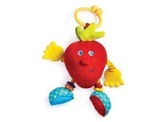 """Фото Развивающая игрушка клубничка Салли, серия """"Друзья фрукты"""""""