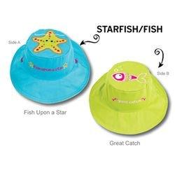Фото Панама детская Морская звезда/Рыбка. Размер S (6 мес. - 2 года)
