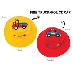 Панама Flapjackids Пожарные/Полиция. Размер S (6 мес. - 2 года) фотография 2