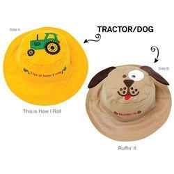 Панама Flapjackids Трактор/Собака. Размер М (2 - 4 года) фотография 2