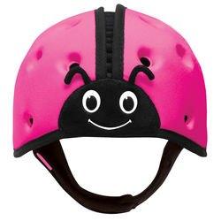 Фото Защитный шлем для малышей SafeheadBABY Божья коровка Розовый