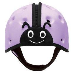 Фото Защитный шлем для малышей SafeheadBABY Божья коровка Фиолетовый