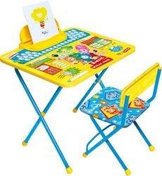 Фото Набор детской мебели стол и стул Фиксики Азбука (Ф1А)